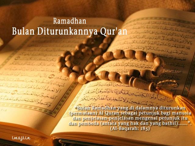 Bulan Ramadhan, Sahabat Al-Qur'an